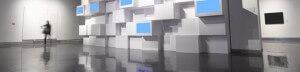 4D video wall effects