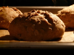 baking bread sensory effects in a museum setting