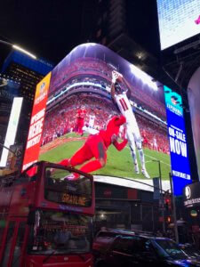"SensoryCo helps create the ultimate ""NFL Experience"" in Times Square!"